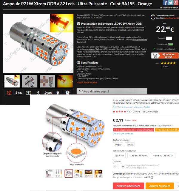 Ampoule à LED Led_cl11