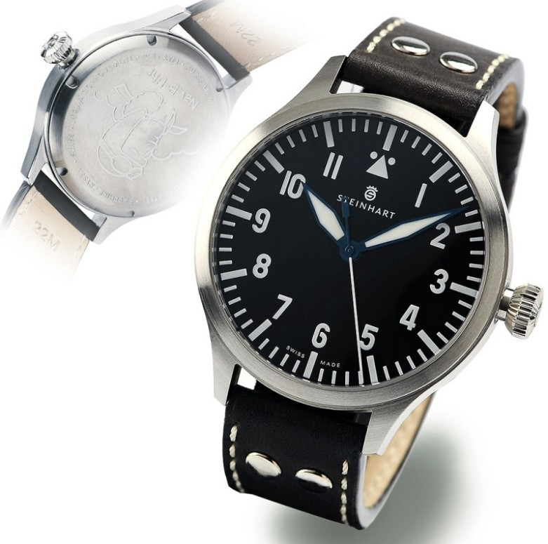 Nav B-Uhr 44 Automatic A-Muster  Sans_t18