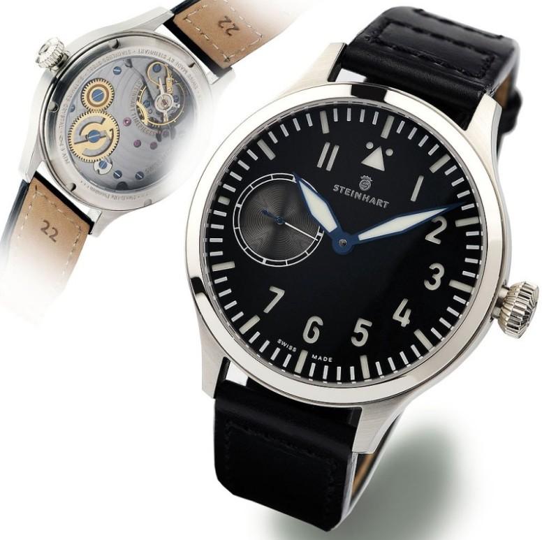 Nav B-Uhr 44 ST1 Premium ANTHRAZIT Sans_t34