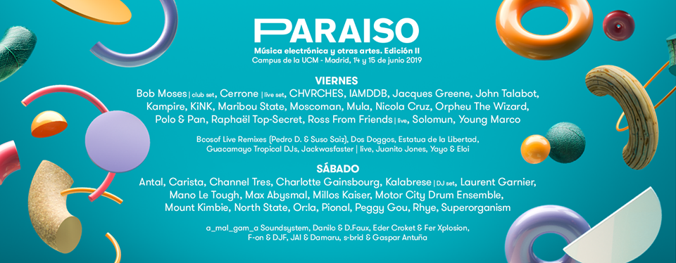Paraíso Festival 2020 // Kaytranada, FKA twigs, Jon Hopkins, Dj Koze, Dixon, mura masa, Apparat, 070 Shake... - Página 4 57978610