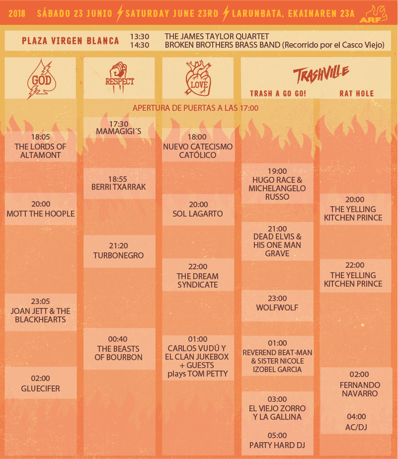 Azkena Rock Festival 2019. The Cult, Melvins, Neko Case y Mtt.Joy cierran el cartel - Página 12 Sabado10