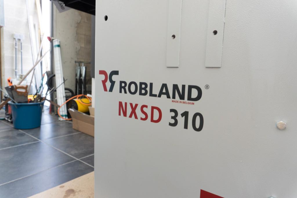 Présentation dégau-rabot Robland NXSD 310  110