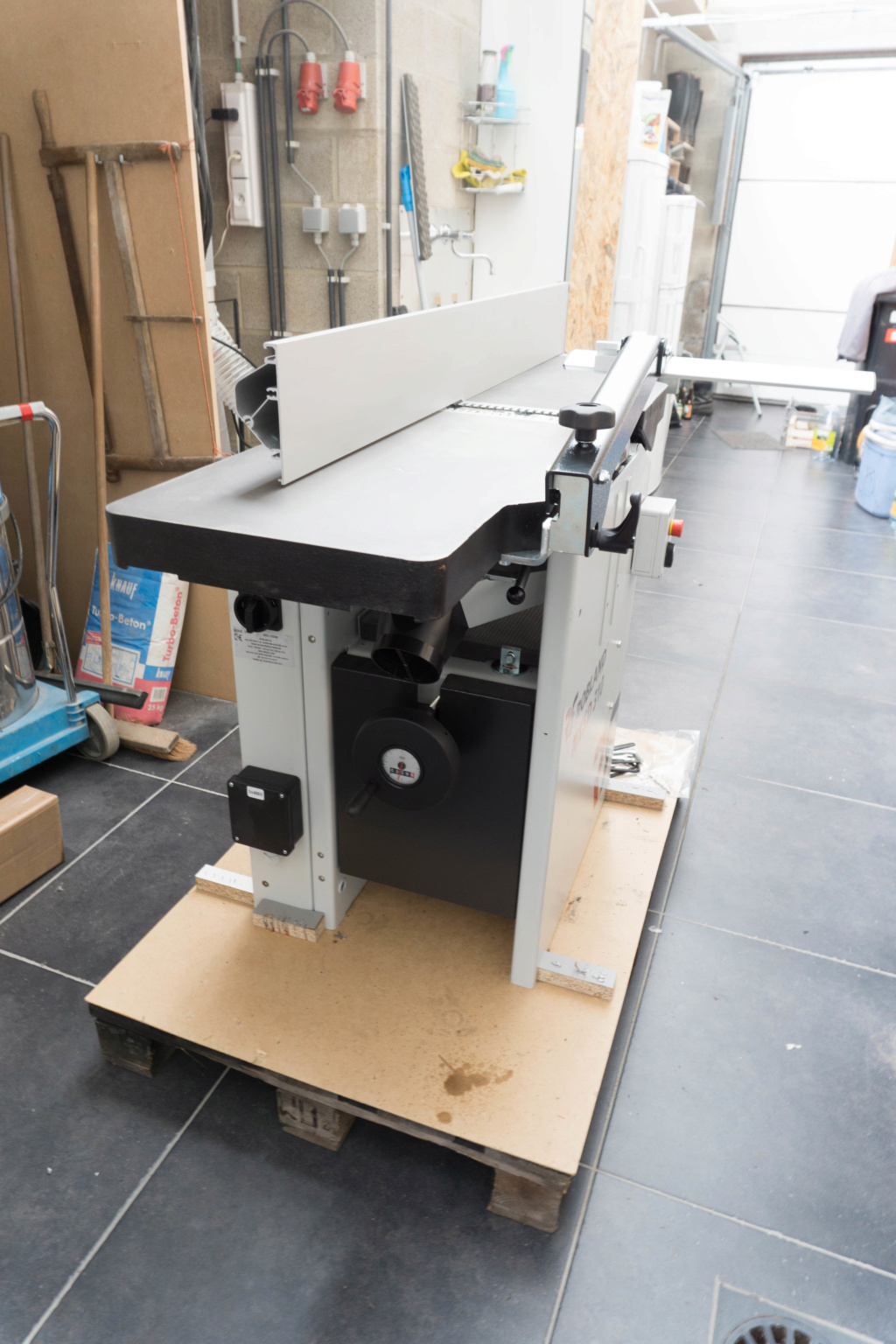 Présentation dégau-rabot Robland NXSD 310  1610
