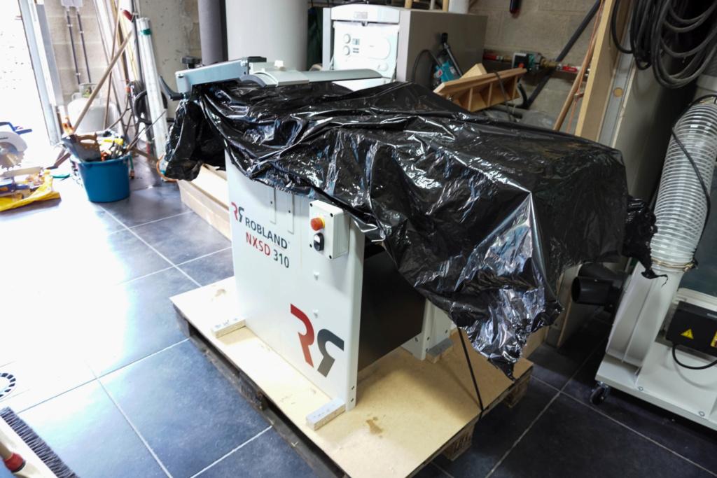 Présentation dégau-rabot Robland NXSD 310  210