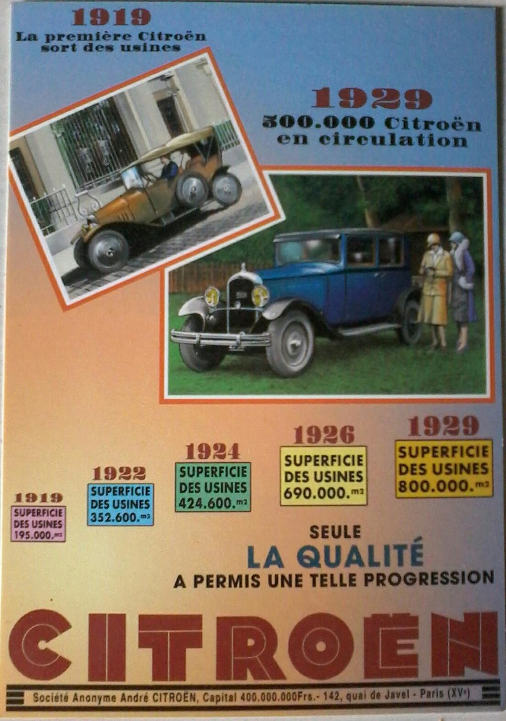 Carte postale Citroën  2019-017