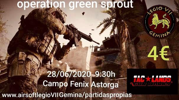 Operación Green Sprow 28 de Junio 2020 4fdaed10