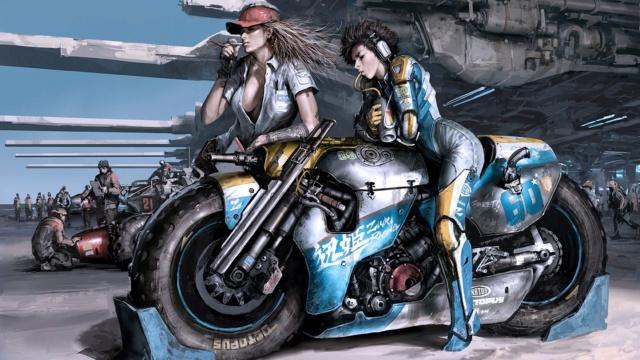 Bikers et Heroic Fantasy 3a573e10