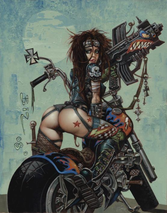 Bikers et Heroic Fantasy Bisley11