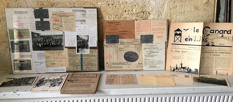 Evocation PG France 39/45 via documents et plaques Image149