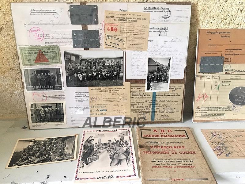 Evocation PG France 39/45 via documents et plaques Image233