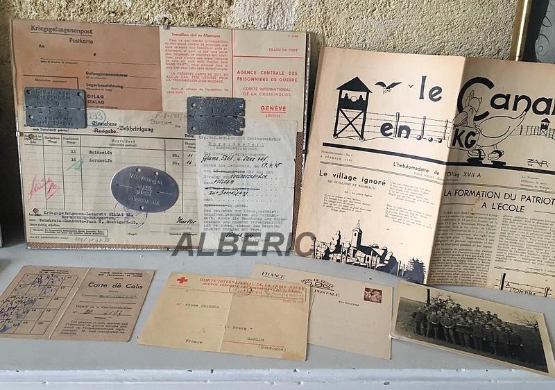 Evocation PG France 39/45 via documents et plaques Image319