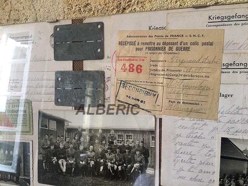 Evocation PG France 39/45 via documents et plaques Image416