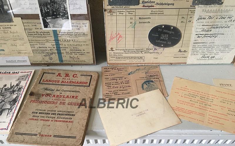 Evocation PG France 39/45 via documents et plaques Image616