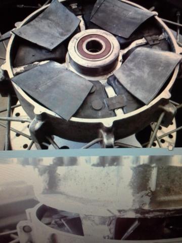 Reparation de les silent blocs en caoutchouc a la couronne. 20131010