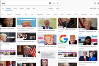 """Ακτιβιστές κατακλύζουν τα αποτελέσματα του Google Search στη λέξη """"ηλίθιος"""" με τον Trump  Screen10"""