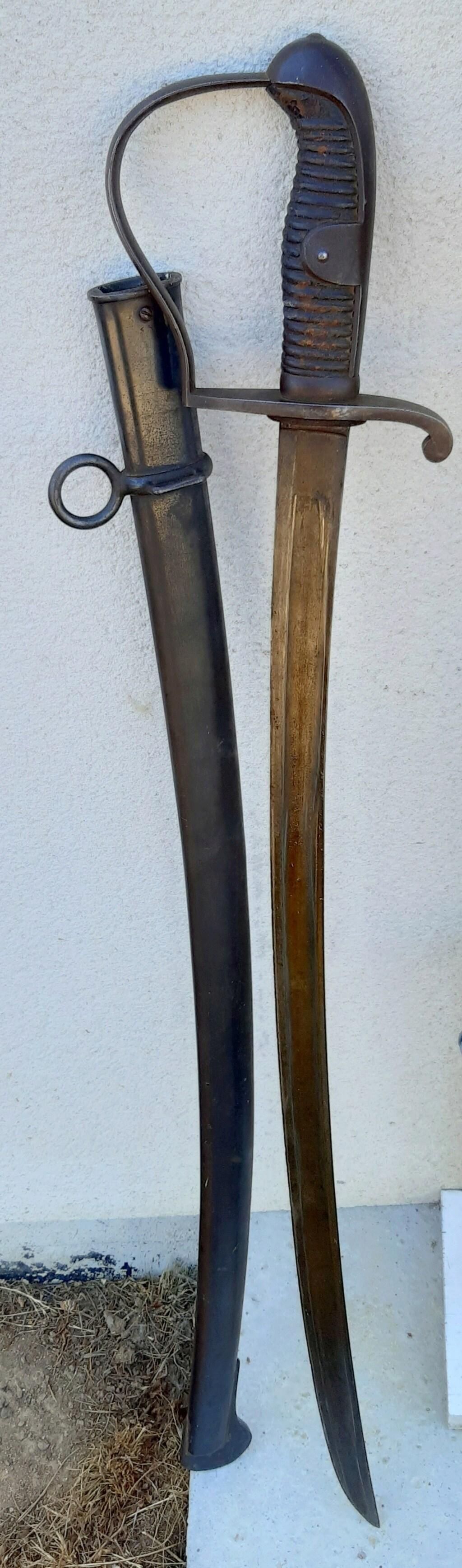 Sabre de Uhlan ersatz 1873 20200769