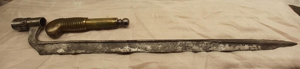 LA RARETÉ du collectionneur de baionnette : 1837 Poncharra 20210435
