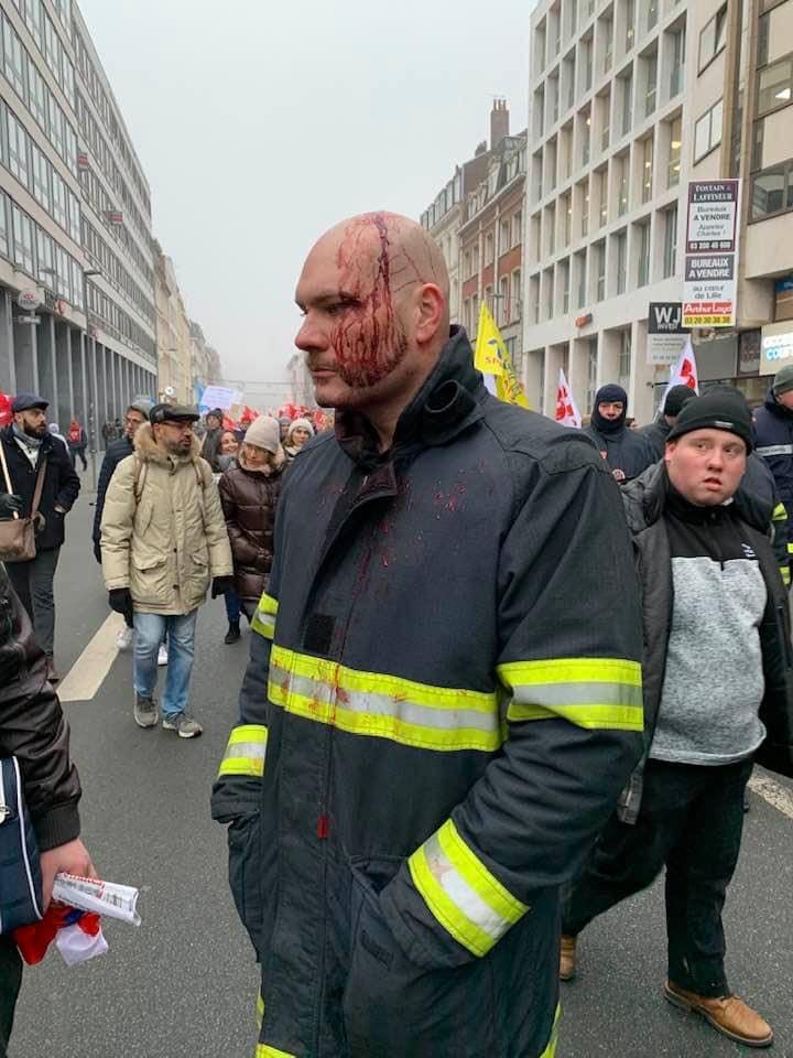 La police de Manu , le 5 décembre à Paris 78910610