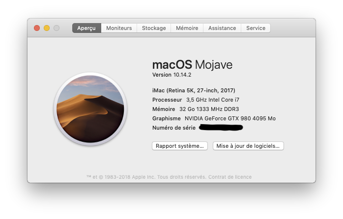 MacOS Mojave 10.14.2 final version (18C54) Captur23