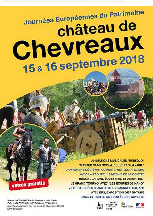 Au château de Chevreaux, on n'y trouve que la descendance des chèvres 2018-039