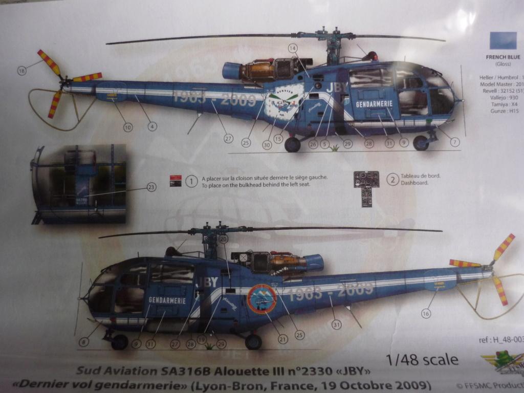 SUD AVIATION ALOUETTE III PGHM Réf L200 P1040226