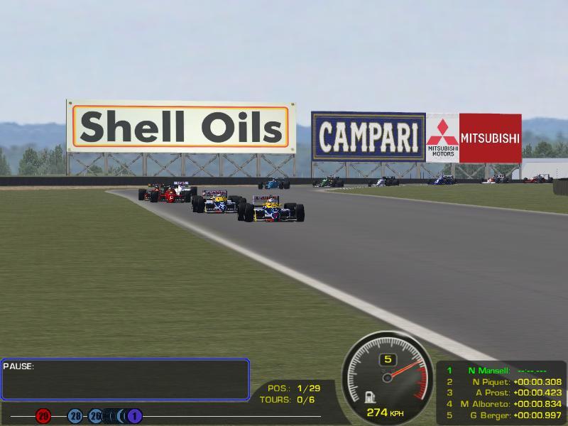 MOD F1 1986 & 1987 - HE & LE versions