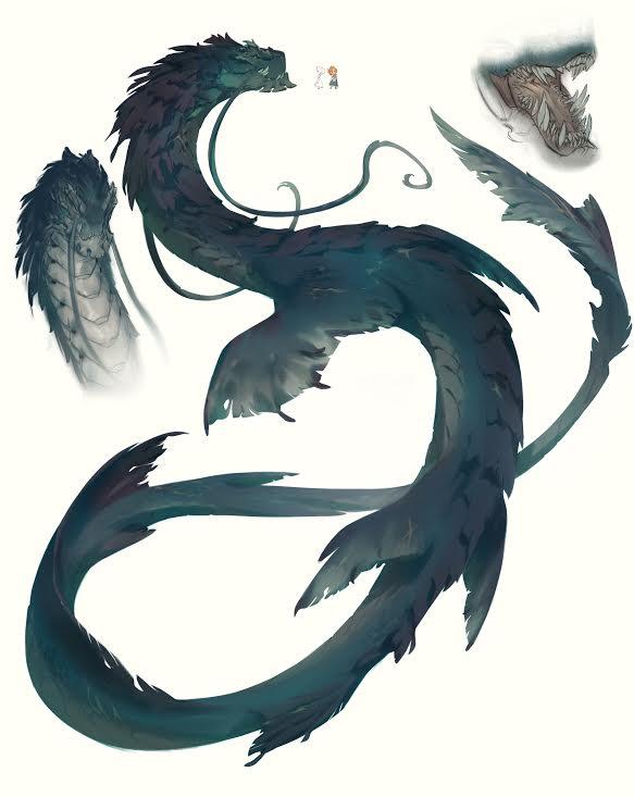 El terror de los mares. T_drag10
