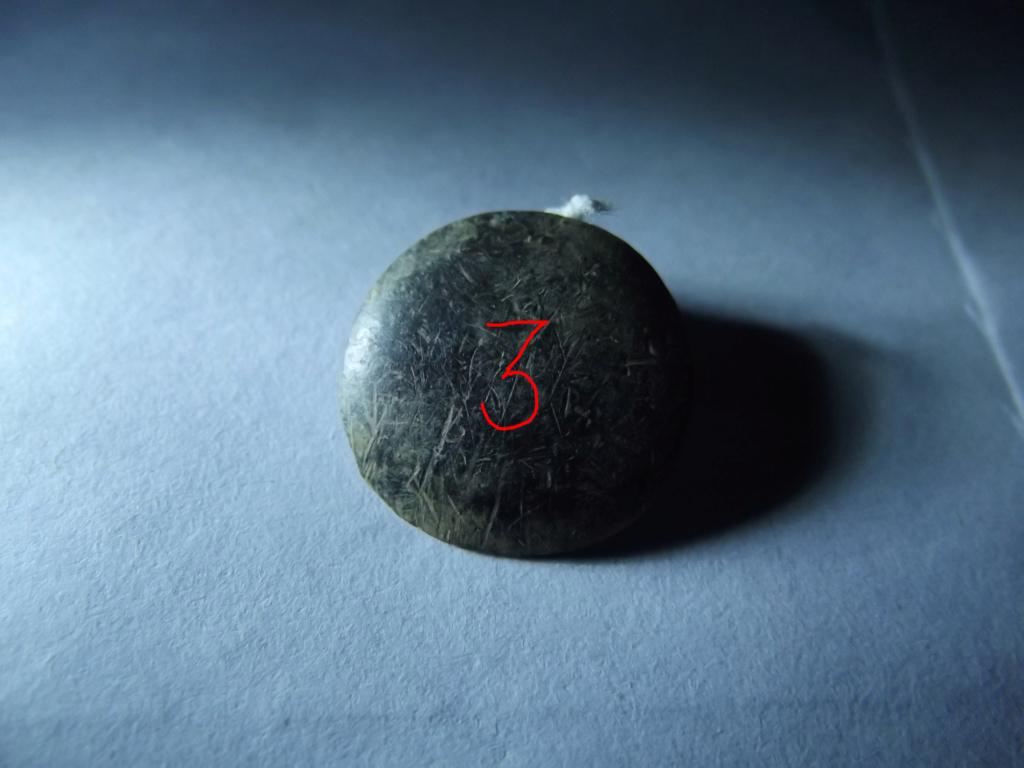 ¿Botón militar con un nº 3? 310