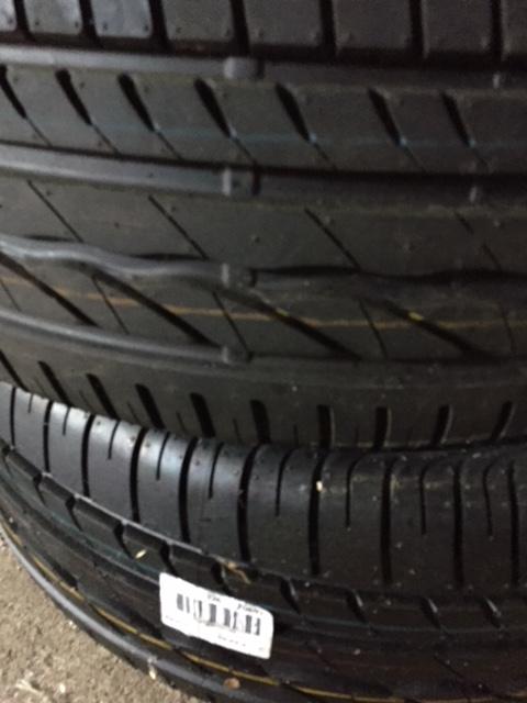 vend 5 pneus neufs en 235 55 r 17 103v bridgesron turanza er300 Img_7114