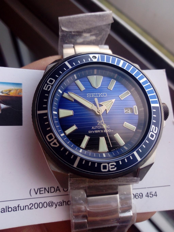 [VENDIDO]  Seiko Samurai SRPB49K1 Save the ocean. 15831611