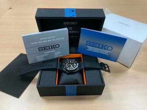 [Vendido]  Seiko Turtle Black series SRPC49 «Limited Edition» Temp023