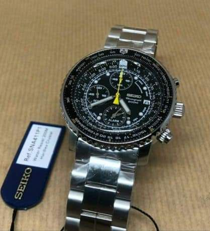 [Vendo] Seiko flightmaster 200M SNA411P1  Temp146