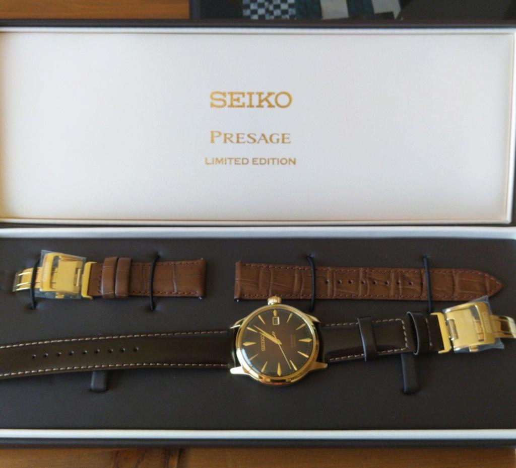 """[Vendido] Seiko presage  SRPD36J1 Limited editon """"Old Fashioned"""" Temp158"""