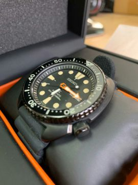 [Vendido]  Seiko Turtle Black series SRPC49 «Limited Edition» Temp223