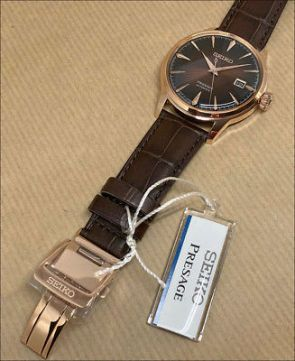 [Vendido]  Seiko Presage Cocktail Srpb46j1 Temp316