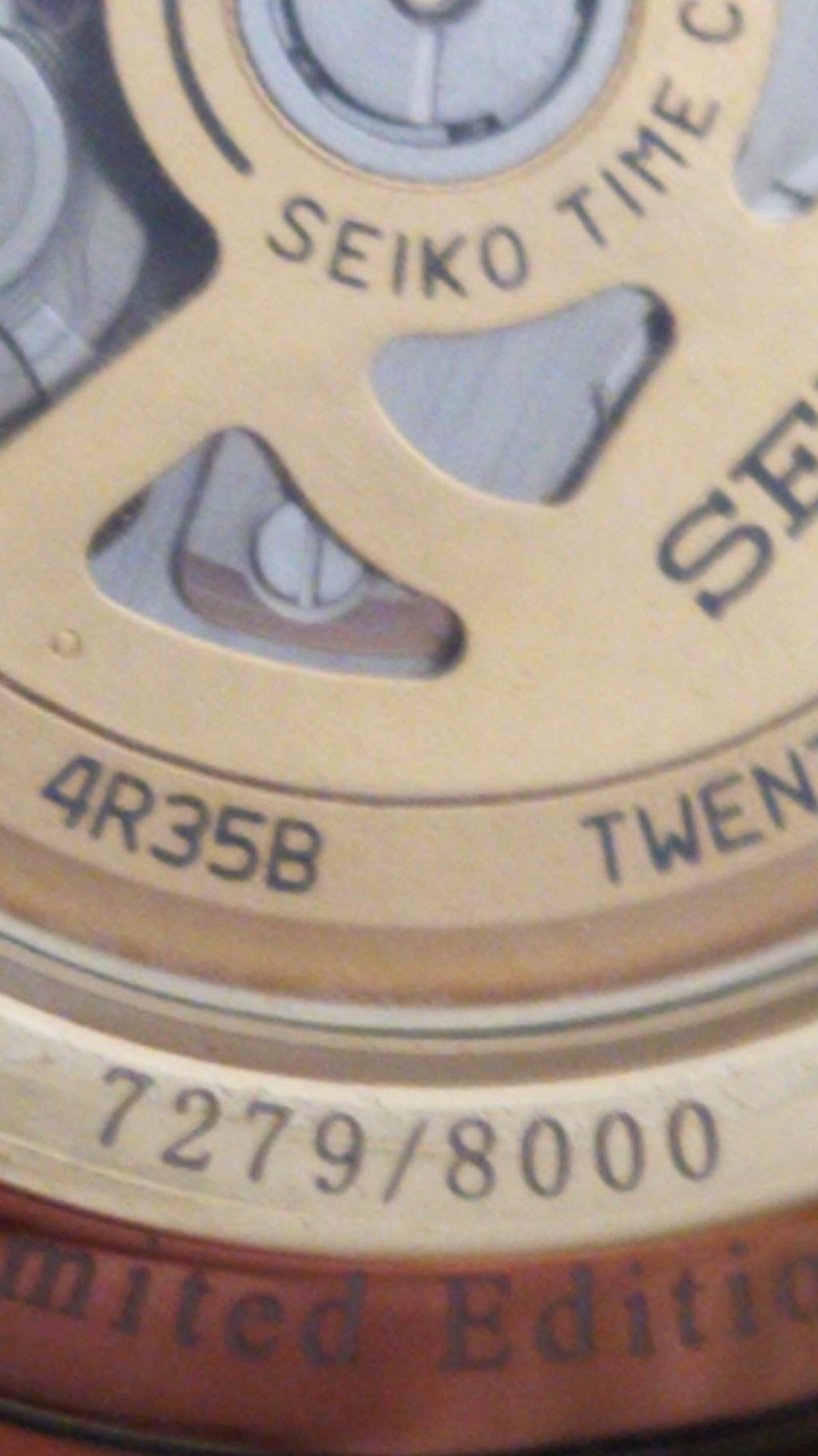 """[Vendido] Seiko presage  SRPD36J1 Limited editon """"Old Fashioned"""" Temp550"""