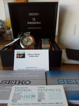 [Vendido] Seiko Turtle  «Dawn Grey» Limited edition. SRPD01K1 Temp618