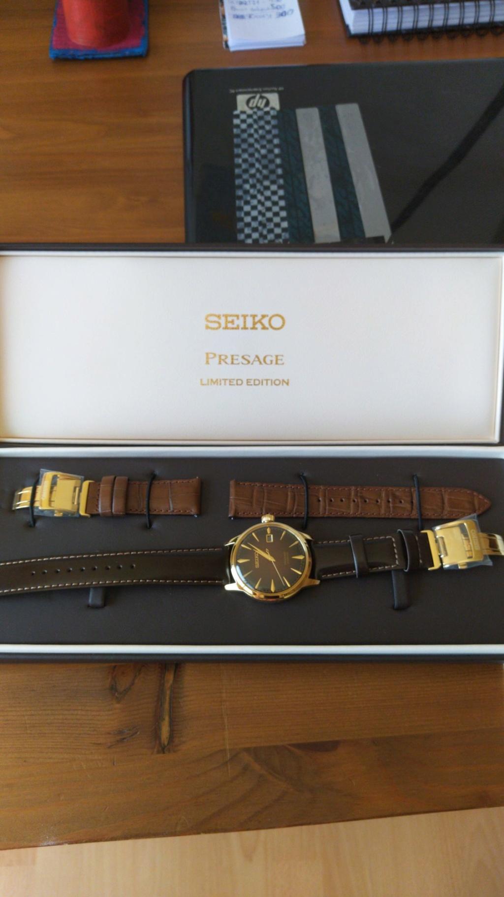 """[Vendido] Seiko presage  SRPD36J1 Limited editon """"Old Fashioned"""" Temp643"""