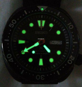 [Vendido]  Seiko Turtle Black series SRPC49 «Limited Edition» Temp713