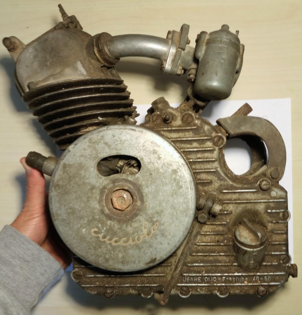 El día que adquirí un motor Cucciolo 114