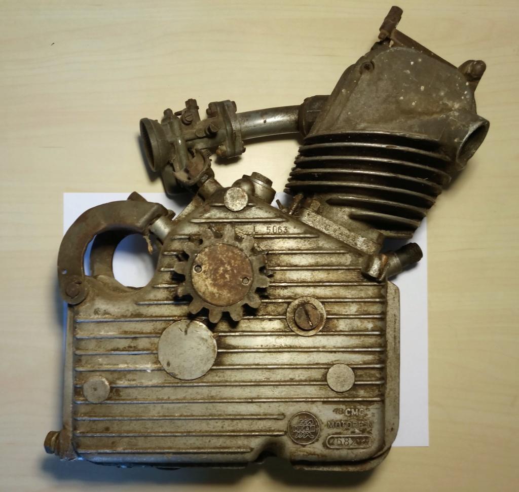 El día que adquirí un motor Cucciolo 214
