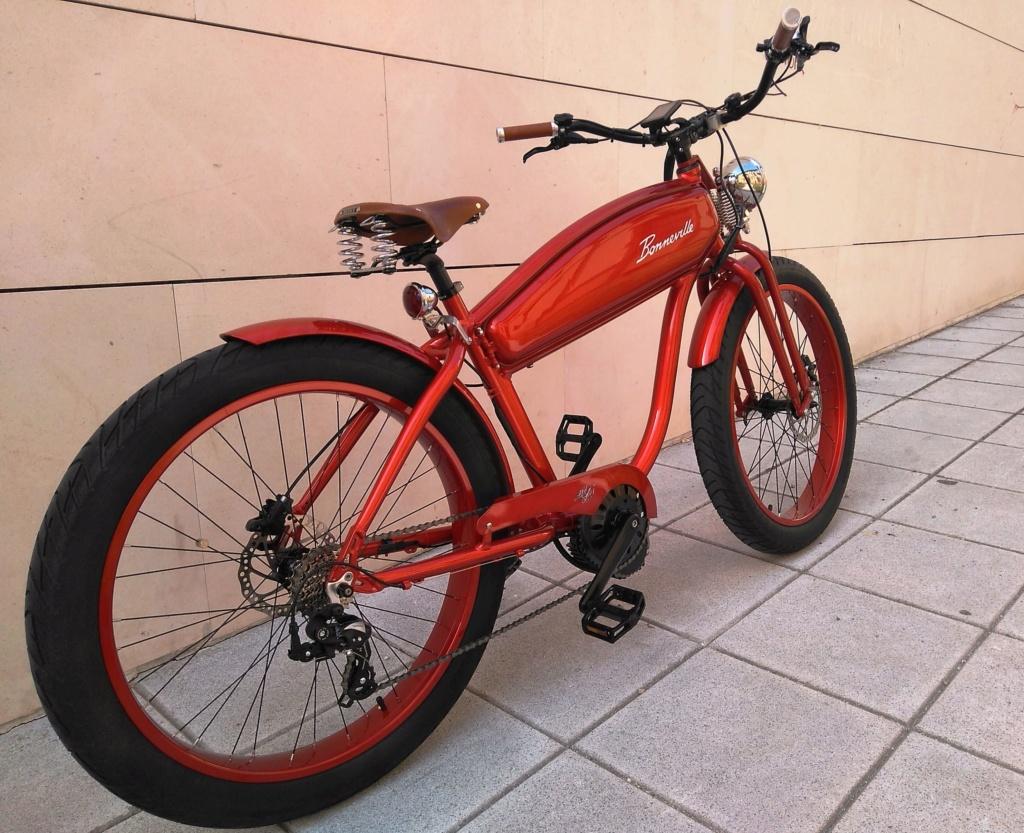 Vendo bicicleta eléctrica Cruiser Bicicl11