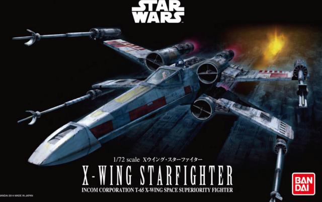 STAR WARS - X WING // AT-AT // AT-ST // SNOWSPEEDER - Bandaï & Revell Boite-13