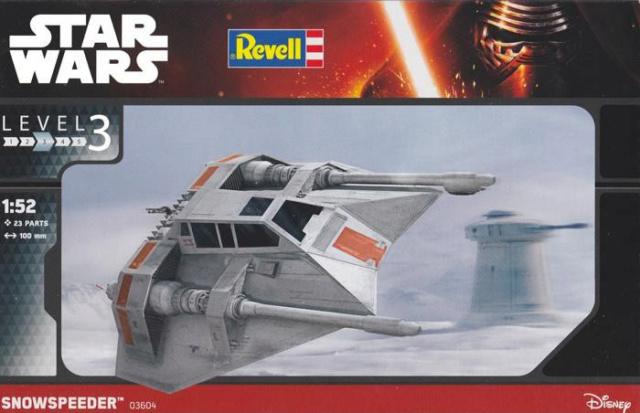 STAR WARS - X WING // AT-AT // AT-ST // SNOWSPEEDER - Bandaï & Revell Boite-15