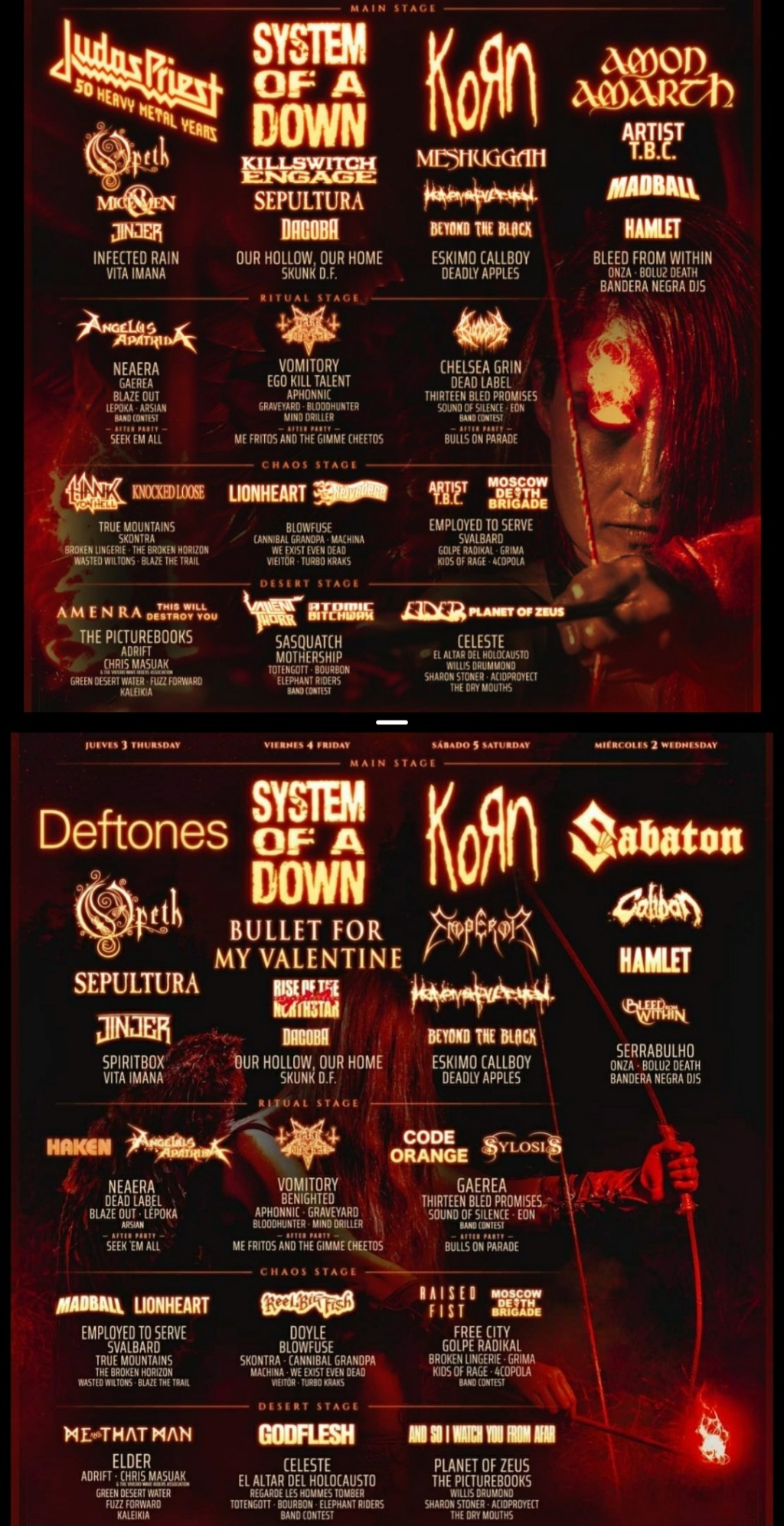 Resurrection Fest Estrella Galicia 2021. (2 - 5 Junio) System of a Down, Deftones, KoRn - Página 2 Img_2018