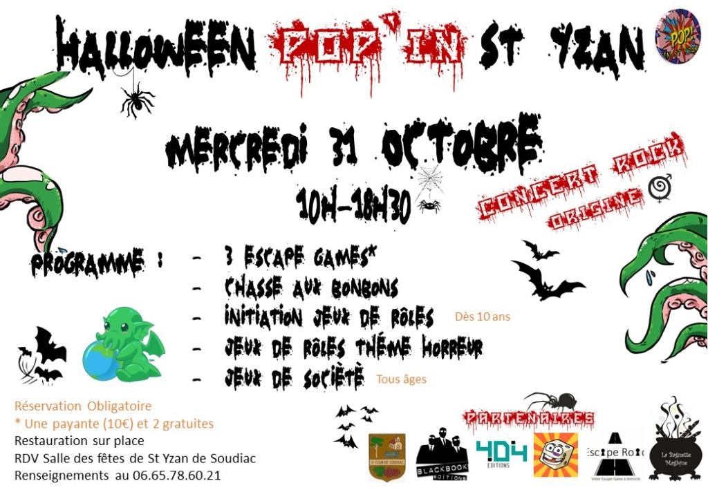 Halloween Pop'in St Yzan - 31/10/2018 20181013