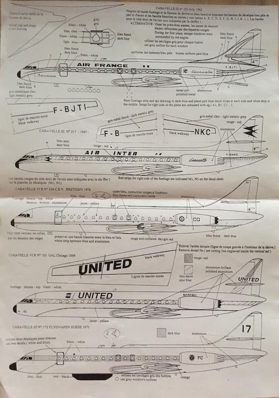 SE 210 Caravelle III/IV (1/72° Mach 2) 10_se211