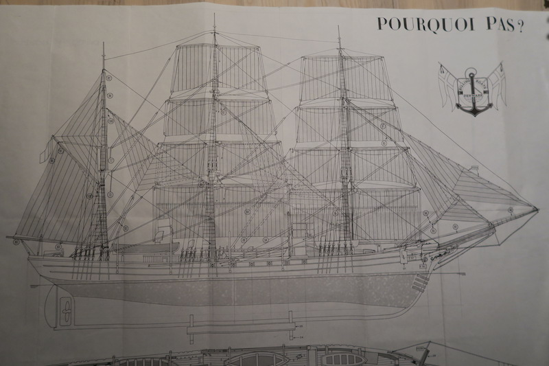 Pourquoi Pas? 1908 (1/75° Billing Boats) [Yves31] - Page 5 125_pl10