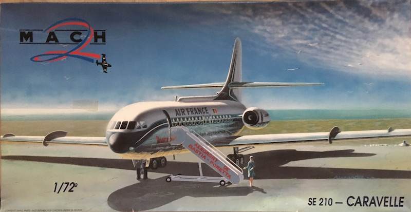 SE 210 Caravelle III/IV (1/72° Mach 2) 1_se2111