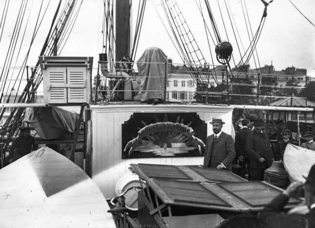 Pourquoi Pas? 1908 (1/75° Billing Boats) - Page 15 357_ca10